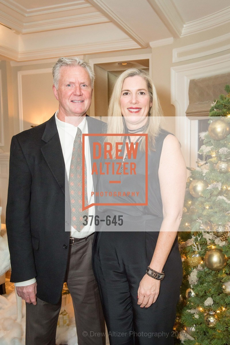 Des Docherty, Lori Docherty, Atherton Holiday Party, Private Residence, December 12th, 2015