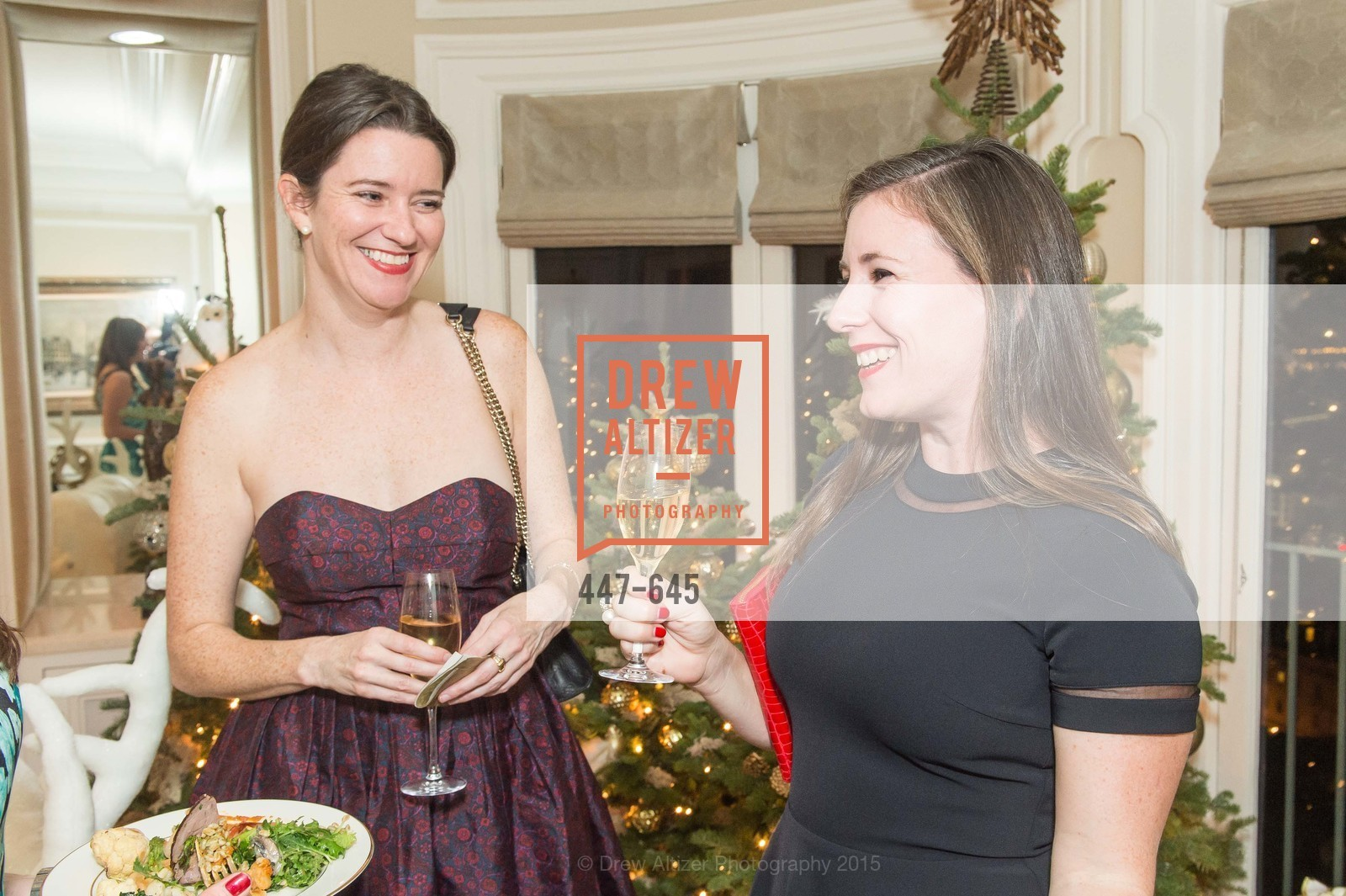 Kirsten Strobel, Kaitlin Mulderig, Atherton Holiday Party, Private Residence, December 12th, 2015,Drew Altizer, Drew Altizer Photography, full-service agency, private events, San Francisco photographer, photographer california