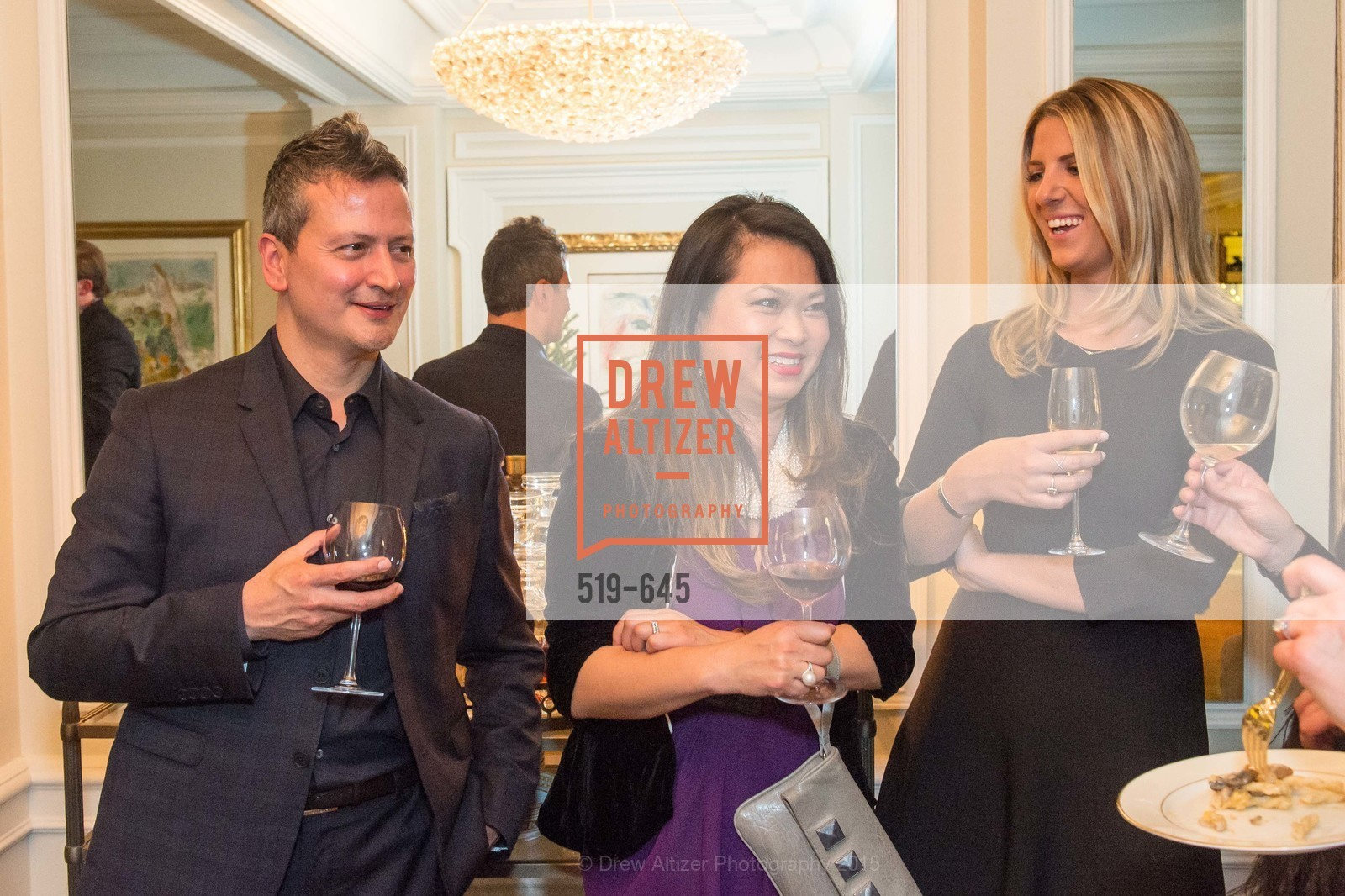 Edward Teran, Lillian Teran, Suzanne Leeney, Atherton Holiday Party, Private Residence, December 12th, 2015,Drew Altizer, Drew Altizer Photography, full-service agency, private events, San Francisco photographer, photographer california