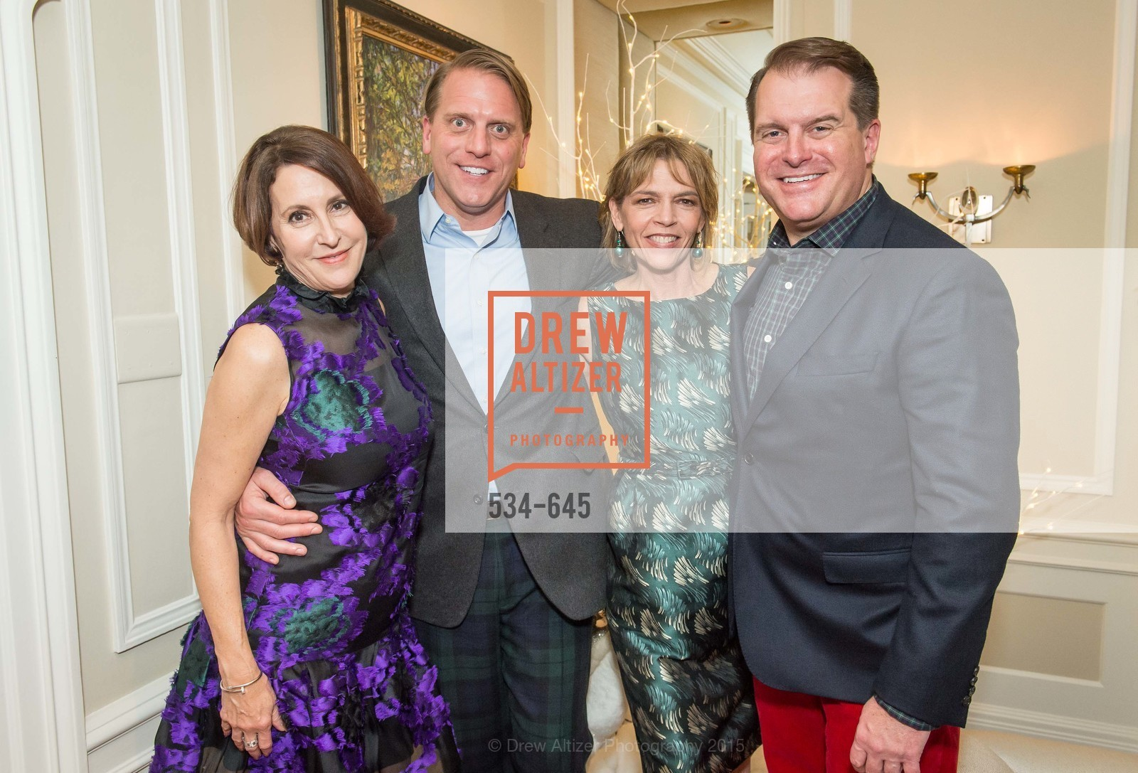 Susan Atherton, Scott Miller, Beth Schnitzer, Doug Piper, Atherton Holiday Party, Private Residence, December 12th, 2015,Drew Altizer, Drew Altizer Photography, full-service agency, private events, San Francisco photographer, photographer california