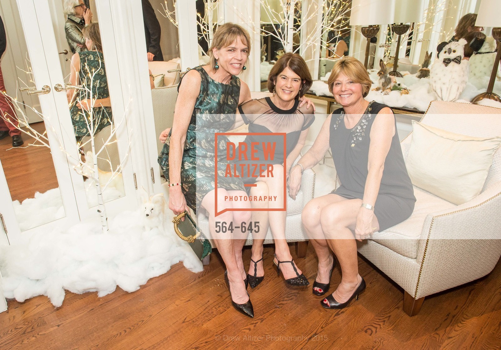 Beth Schnitzer, Patricia Foester, Debbie Rivard, Atherton Holiday Party, Private Residence, December 12th, 2015,Drew Altizer, Drew Altizer Photography, full-service agency, private events, San Francisco photographer, photographer california