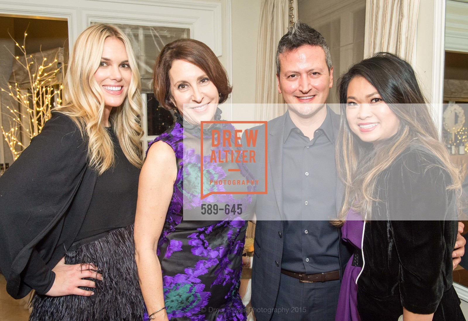 Jennifer Ritchey, Susan Atherton, Edward Teran, Lillian Teran, Atherton Holiday Party, Private Residence, December 12th, 2015,Drew Altizer, Drew Altizer Photography, full-service event agency, private events, San Francisco photographer, photographer California