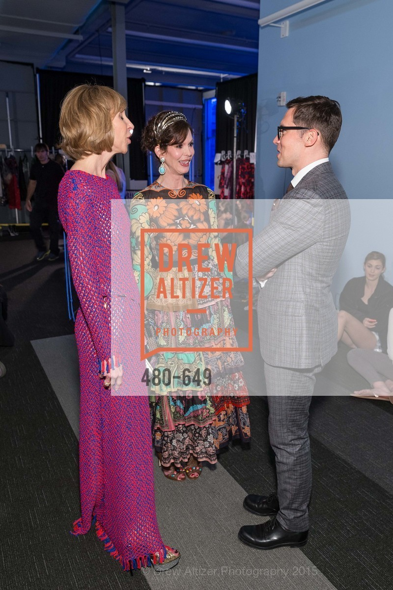 Nancy Kukacka, Stephanie Marver, Erdem Moralioglu, Fashion Forward: An Evening with Erdem presented by SF Opera Guild and Saks Fifth Avenue, Pier 27. Pier 27, The Embarcadero, March 25th, 2015,Drew Altizer, Drew Altizer Photography, full-service agency, private events, San Francisco photographer, photographer california