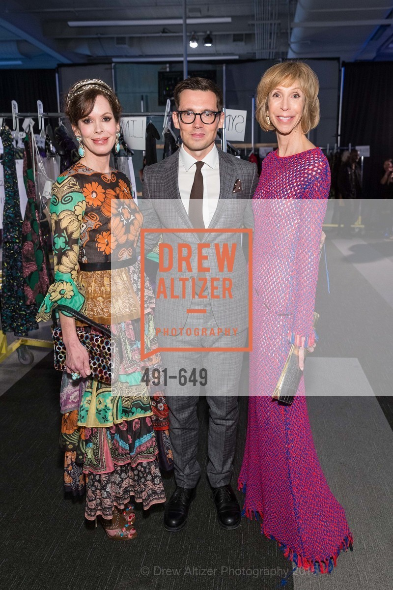 Stephanie Marver, Erdem Moralioglu, Nancy Kukacka, Fashion Forward: An Evening with Erdem presented by SF Opera Guild and Saks Fifth Avenue, Pier 27. Pier 27, The Embarcadero, March 25th, 2015,Drew Altizer, Drew Altizer Photography, full-service agency, private events, San Francisco photographer, photographer california