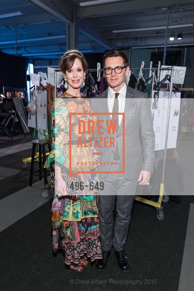 Stephanie Marver, Erdem Moralioglu, Fashion Forward: An Evening with Erdem presented by SF Opera Guild and Saks Fifth Avenue, Pier 27. Pier 27, The Embarcadero, March 25th, 2015,Drew Altizer, Drew Altizer Photography, full-service agency, private events, San Francisco photographer, photographer california