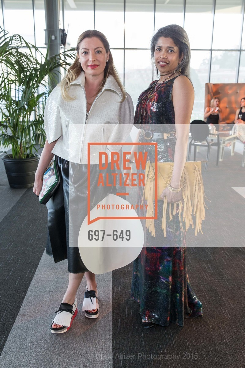 Sonya Molodetskaya, Deepa Pakianathan, Fashion Forward: An Evening with Erdem presented by SF Opera Guild and Saks Fifth Avenue, Pier 27. Pier 27, The Embarcadero, March 25th, 2015,Drew Altizer, Drew Altizer Photography, full-service event agency, private events, San Francisco photographer, photographer California