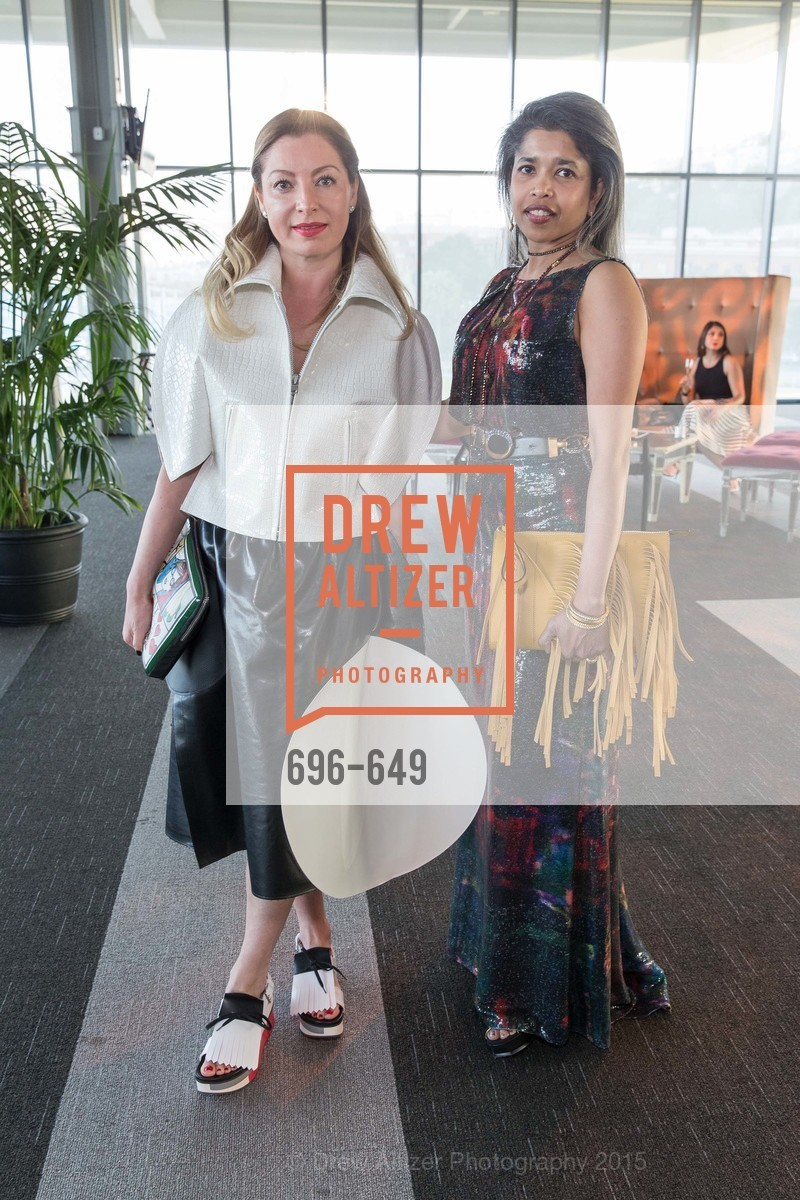 Sonya Molodetskaya, Deepa Pakianathan, Fashion Forward: An Evening with Erdem presented by SF Opera Guild and Saks Fifth Avenue, Pier 27. Pier 27, The Embarcadero, March 25th, 2015,Drew Altizer, Drew Altizer Photography, full-service agency, private events, San Francisco photographer, photographer california