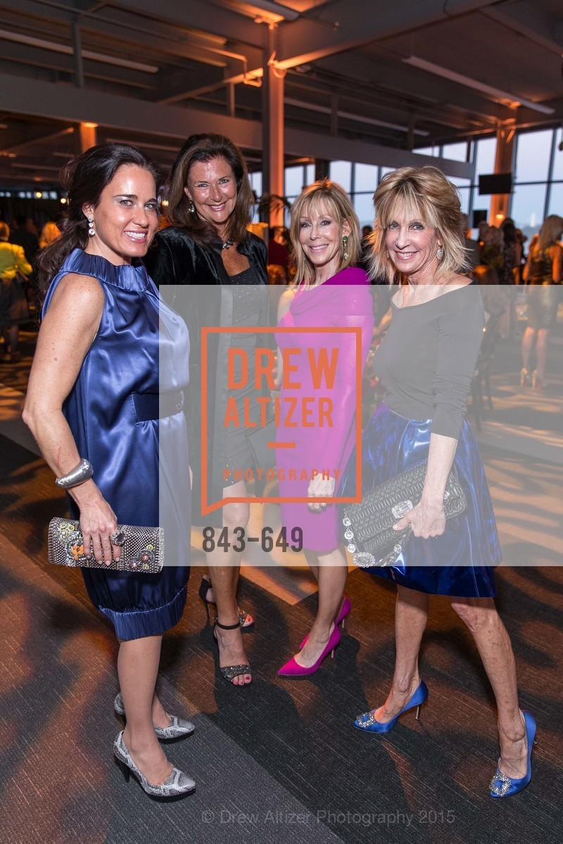 Natalia Urrutia, Linda Zider, Barbara Winchell, Sandy Mandel, Fashion Forward: An Evening with Erdem presented by SF Opera Guild and Saks Fifth Avenue, Pier 27. Pier 27, The Embarcadero, March 25th, 2015,Drew Altizer, Drew Altizer Photography, full-service agency, private events, San Francisco photographer, photographer california