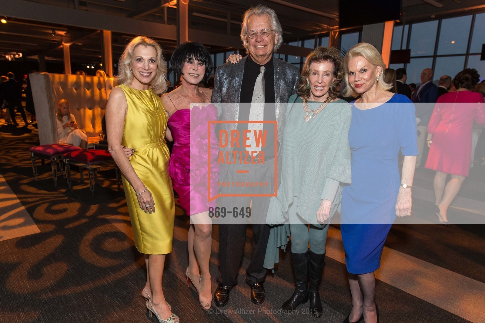 Cynthia Schreuder, Marilyn Cabak, Theodore Brown, Ellie Brown, Sandra Farris, Fashion Forward: An Evening with Erdem presented by SF Opera Guild and Saks Fifth Avenue, Pier 27. Pier 27, The Embarcadero, March 25th, 2015,Drew Altizer, Drew Altizer Photography, full-service agency, private events, San Francisco photographer, photographer california
