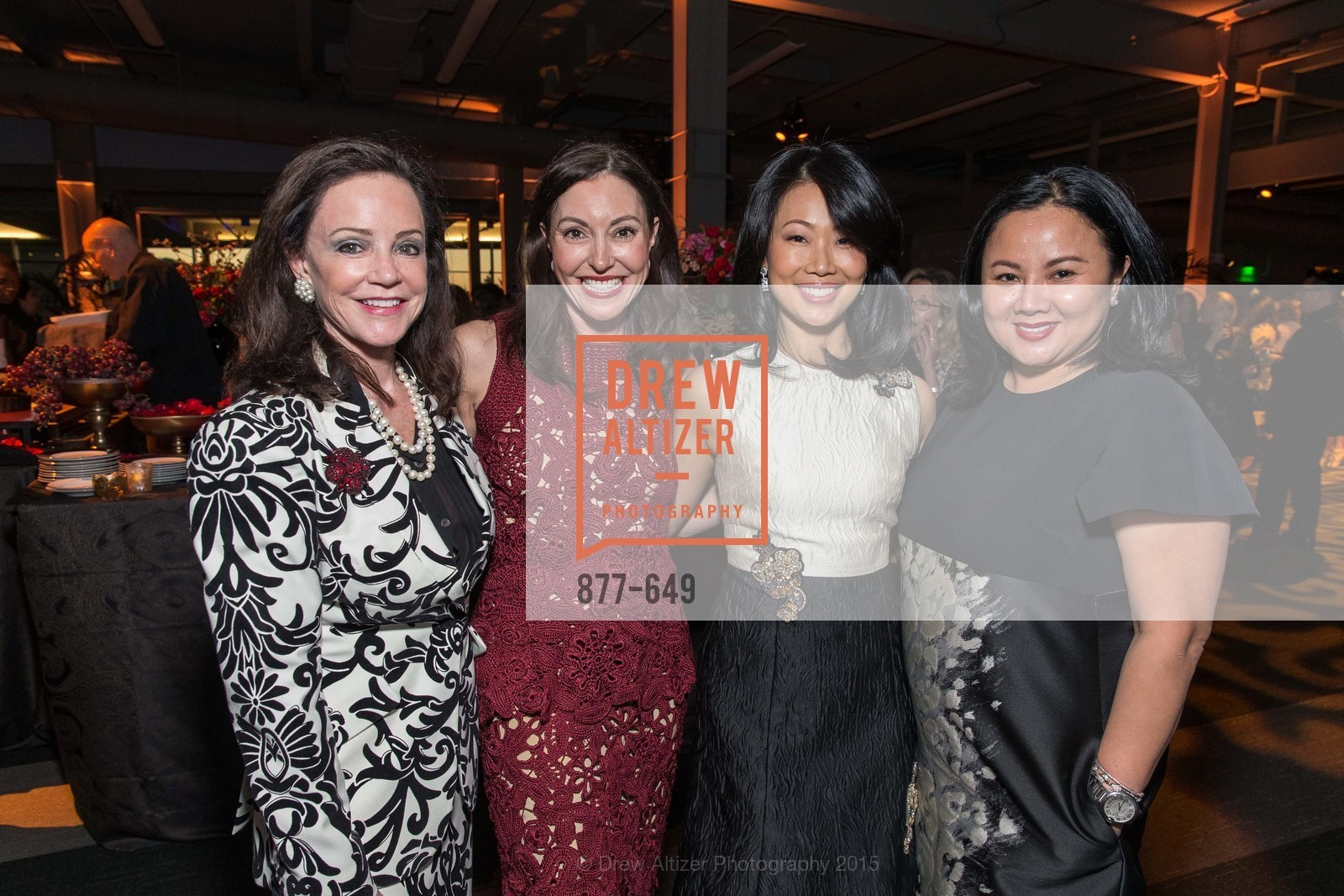 Gail DeMartini, Marybeth Lamotte, Huifen Chan, Jamie Wong, Fashion Forward: An Evening with Erdem presented by SF Opera Guild and Saks Fifth Avenue, Pier 27. Pier 27, The Embarcadero, March 25th, 2015,Drew Altizer, Drew Altizer Photography, full-service agency, private events, San Francisco photographer, photographer california