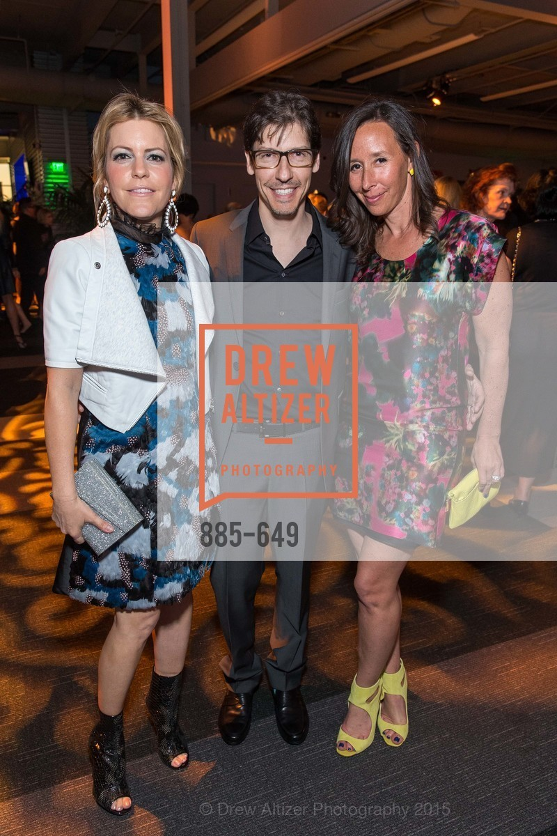 Suzanne Felson, Jeff Fluhr, Sabrina Eliasoph, Fashion Forward: An Evening with Erdem presented by SF Opera Guild and Saks Fifth Avenue, Pier 27. Pier 27, The Embarcadero, March 25th, 2015,Drew Altizer, Drew Altizer Photography, full-service agency, private events, San Francisco photographer, photographer california