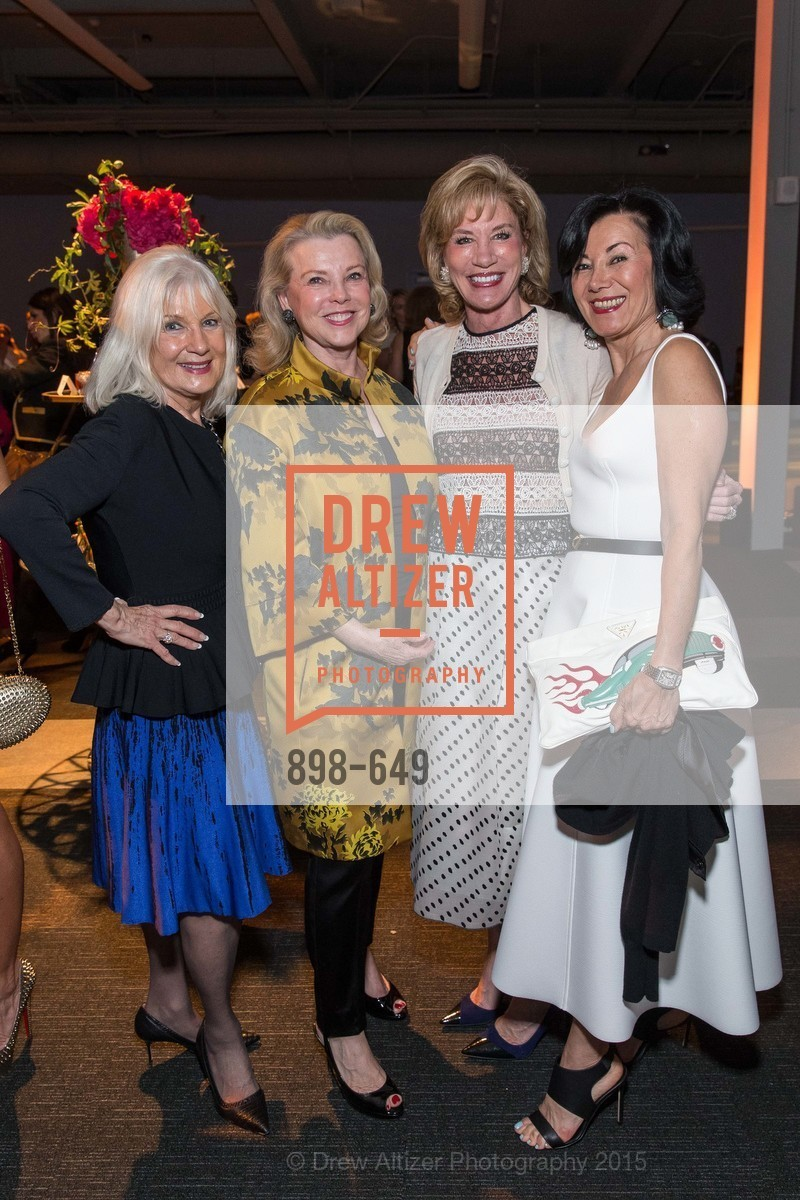 Arlene Inch, Jeanne Lawrence, Mary Poland, Nafiseh Lindberg, Fashion Forward: An Evening with Erdem presented by SF Opera Guild and Saks Fifth Avenue, Pier 27. Pier 27, The Embarcadero, March 25th, 2015,Drew Altizer, Drew Altizer Photography, full-service agency, private events, San Francisco photographer, photographer california