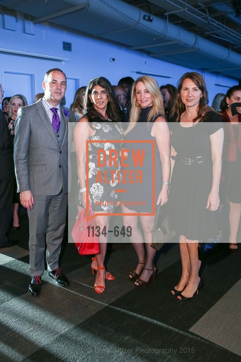Robert Arnold-Kraft, Sujata Pherwani, Jeannie Harris, Susan Stone, Fashion Forward: An Evening with Erdem presented by SF Opera Guild and Saks Fifth Avenue, Pier 27. Pier 27, The Embarcadero, March 25th, 2015,Drew Altizer, Drew Altizer Photography, full-service agency, private events, San Francisco photographer, photographer california