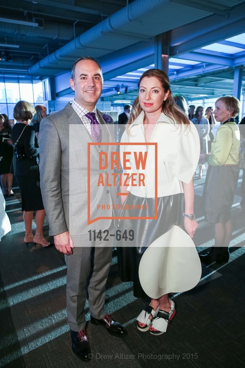 Robert Arnold-Kraft, Sonya Molodetskaya, Fashion Forward: An Evening with Erdem presented by SF Opera Guild and Saks Fifth Avenue, Pier 27. Pier 27, The Embarcadero, March 25th, 2015,Drew Altizer, Drew Altizer Photography, full-service agency, private events, San Francisco photographer, photographer california