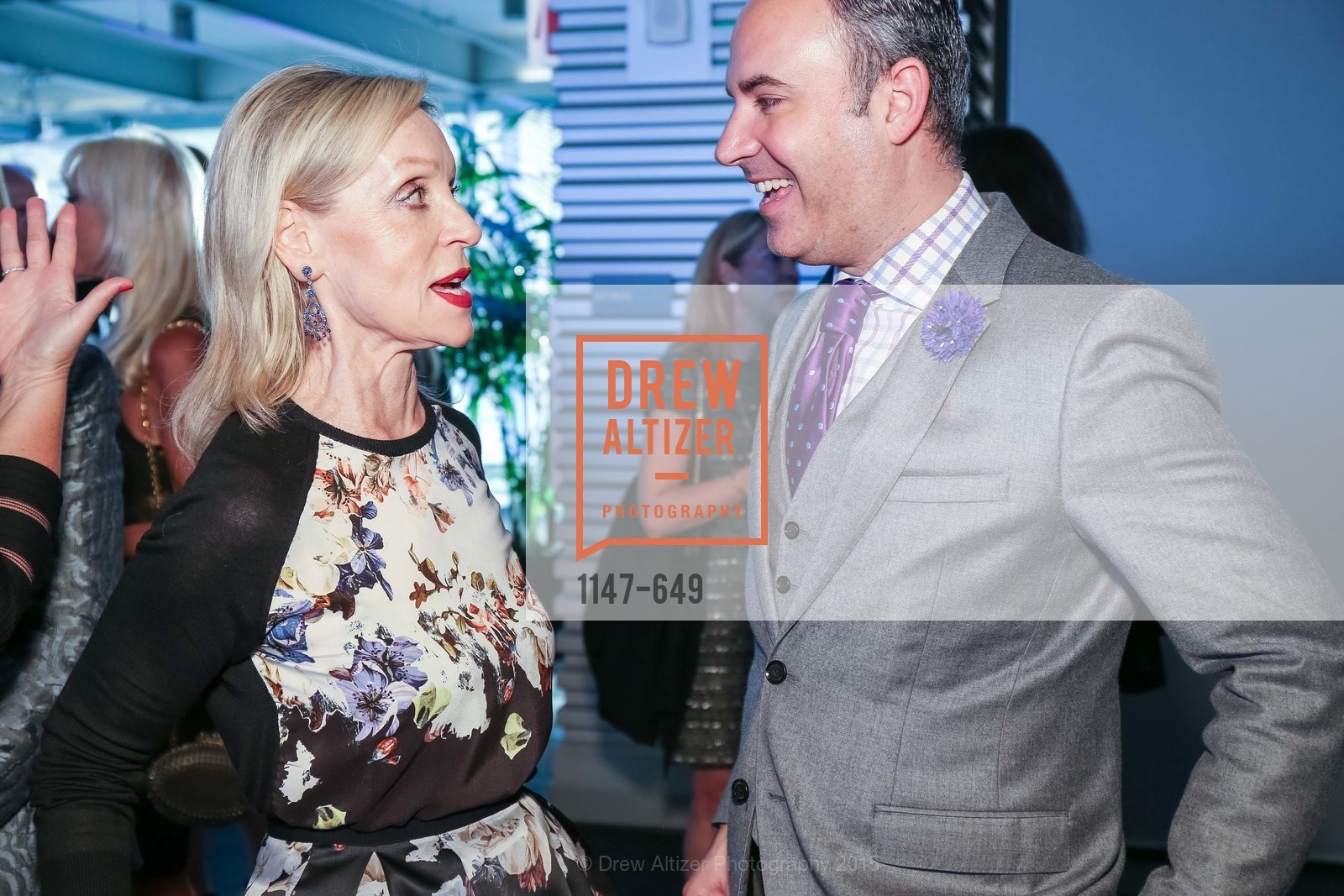 Barbara Brown, Robert Arnold-Kraft, Fashion Forward: An Evening with Erdem presented by SF Opera Guild and Saks Fifth Avenue, Pier 27. Pier 27, The Embarcadero, March 25th, 2015,Drew Altizer, Drew Altizer Photography, full-service agency, private events, San Francisco photographer, photographer california