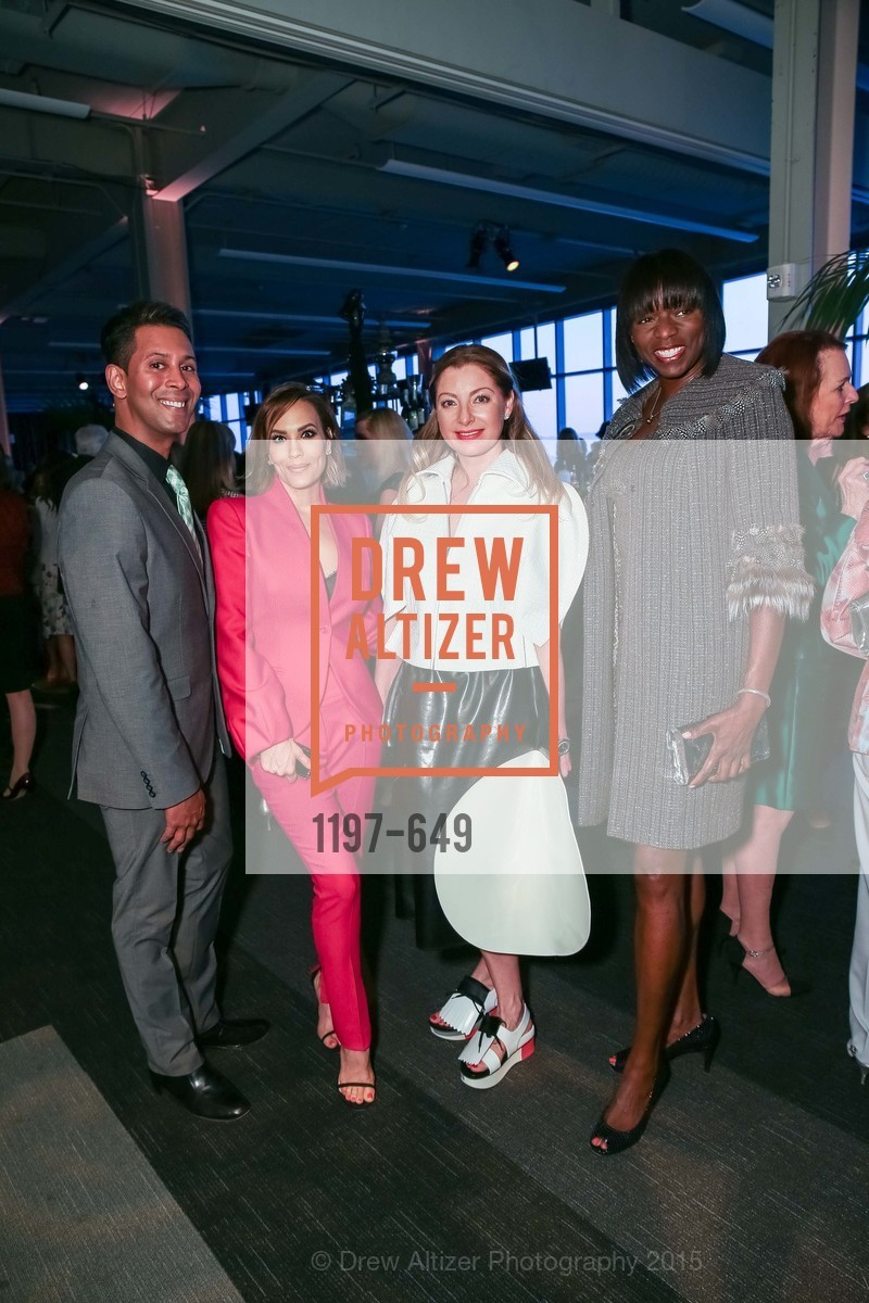 Emillio Mesa, Lora DuBain, Sonya Molodetskaya, Kelly E. Carter, Fashion Forward: An Evening with Erdem presented by SF Opera Guild and Saks Fifth Avenue, Pier 27. Pier 27, The Embarcadero, March 25th, 2015,Drew Altizer, Drew Altizer Photography, full-service agency, private events, San Francisco photographer, photographer california