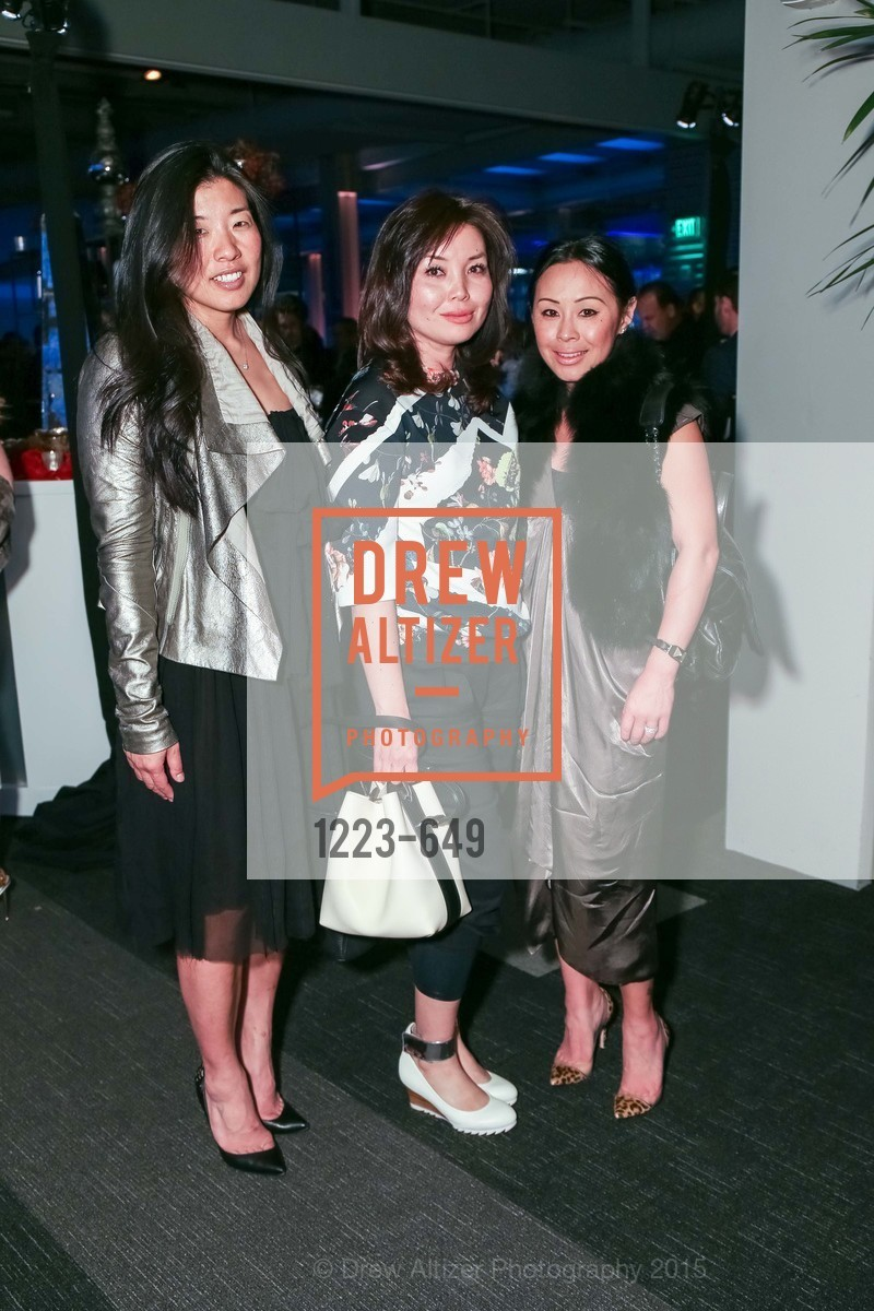 Soomee Arikawa, Hiromi Fukuda, Candace Fukuda, Fashion Forward: An Evening with Erdem presented by SF Opera Guild and Saks Fifth Avenue, Pier 27. Pier 27, The Embarcadero, March 25th, 2015,Drew Altizer, Drew Altizer Photography, full-service agency, private events, San Francisco photographer, photographer california