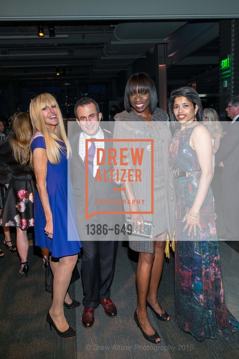 Elisabeth Laurence, Jorge Maumer, Kelly E. Carter, Deepa Pakianathan, Fashion Forward: An Evening with Erdem presented by SF Opera Guild and Saks Fifth Avenue, Pier 27. Pier 27, The Embarcadero, March 25th, 2015,Drew Altizer, Drew Altizer Photography, full-service agency, private events, San Francisco photographer, photographer california