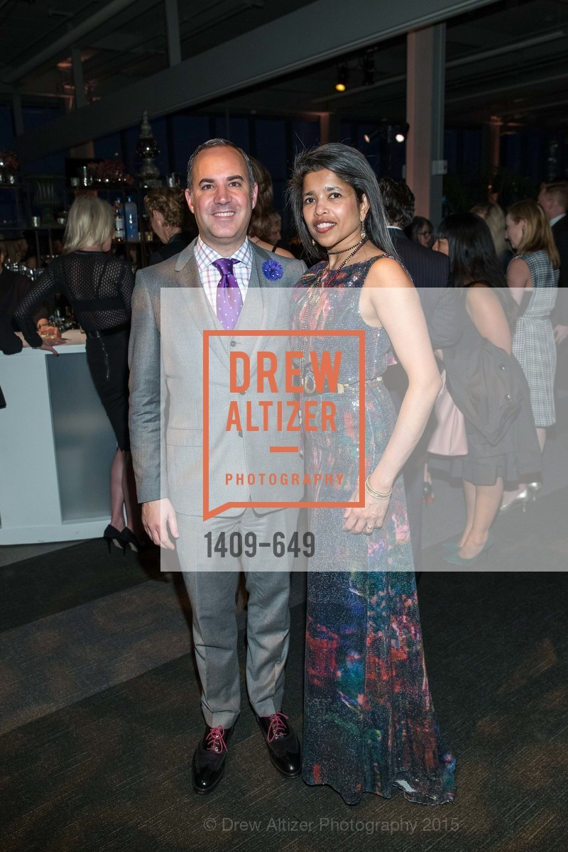 Robert Arnold-Kraft, Deepa Pakianathan, Fashion Forward: An Evening with Erdem presented by SF Opera Guild and Saks Fifth Avenue, Pier 27. Pier 27, The Embarcadero, March 25th, 2015,Drew Altizer, Drew Altizer Photography, full-service agency, private events, San Francisco photographer, photographer california