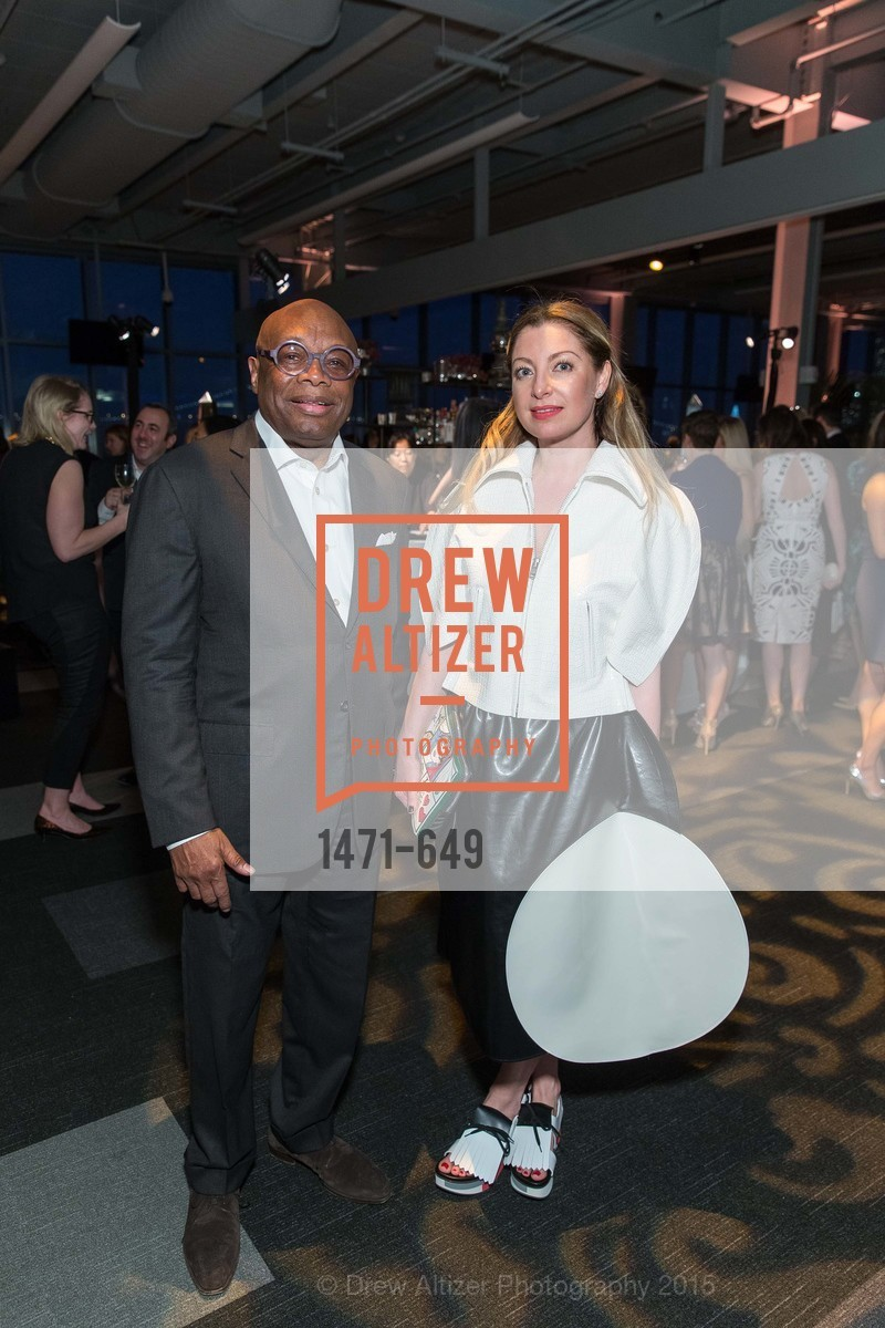 Willie Brown, Sonya Molodetskaya, Fashion Forward: An Evening with Erdem presented by SF Opera Guild and Saks Fifth Avenue, Pier 27. Pier 27, The Embarcadero, March 25th, 2015,Drew Altizer, Drew Altizer Photography, full-service agency, private events, San Francisco photographer, photographer california