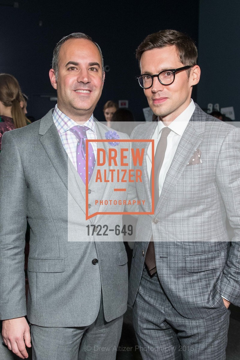 Robert Arnold-Kraft, Erdem Moralioglu, Fashion Forward: An Evening with Erdem presented by SF Opera Guild and Saks Fifth Avenue, Pier 27. Pier 27, The Embarcadero, March 25th, 2015,Drew Altizer, Drew Altizer Photography, full-service agency, private events, San Francisco photographer, photographer california
