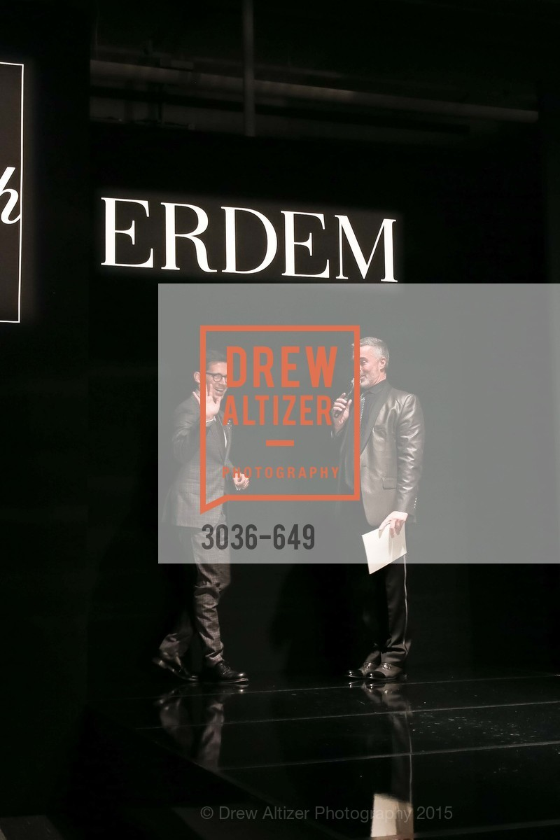 Erdem Moralioglu, Lenny Broberg, Fashion Forward: An Evening with Erdem presented by SF Opera Guild and Saks Fifth Avenue, Pier 27. Pier 27, The Embarcadero, March 25th, 2015,Drew Altizer, Drew Altizer Photography, full-service agency, private events, San Francisco photographer, photographer california