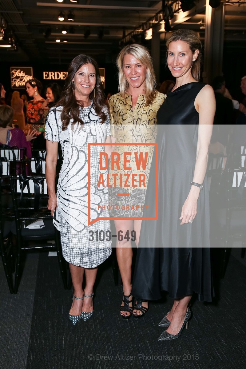 Margi Heldfond, Leslie Olrich, Abbi Adams, Fashion Forward: An Evening with Erdem presented by SF Opera Guild and Saks Fifth Avenue, Pier 27. Pier 27, The Embarcadero, March 25th, 2015,Drew Altizer, Drew Altizer Photography, full-service agency, private events, San Francisco photographer, photographer california