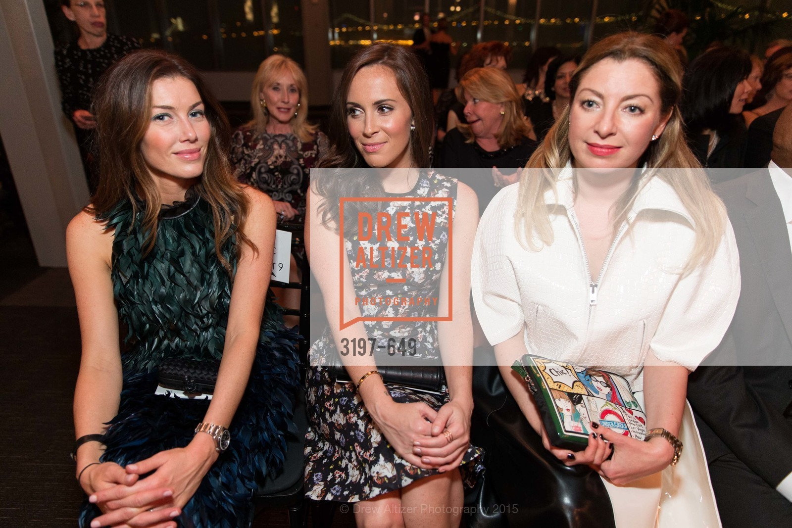 Sarah Somberg, Cierra Sherwin, Sonya Molodetskaya, Fashion Forward: An Evening with Erdem presented by SF Opera Guild and Saks Fifth Avenue, Pier 27. Pier 27, The Embarcadero, March 25th, 2015,Drew Altizer, Drew Altizer Photography, full-service agency, private events, San Francisco photographer, photographer california