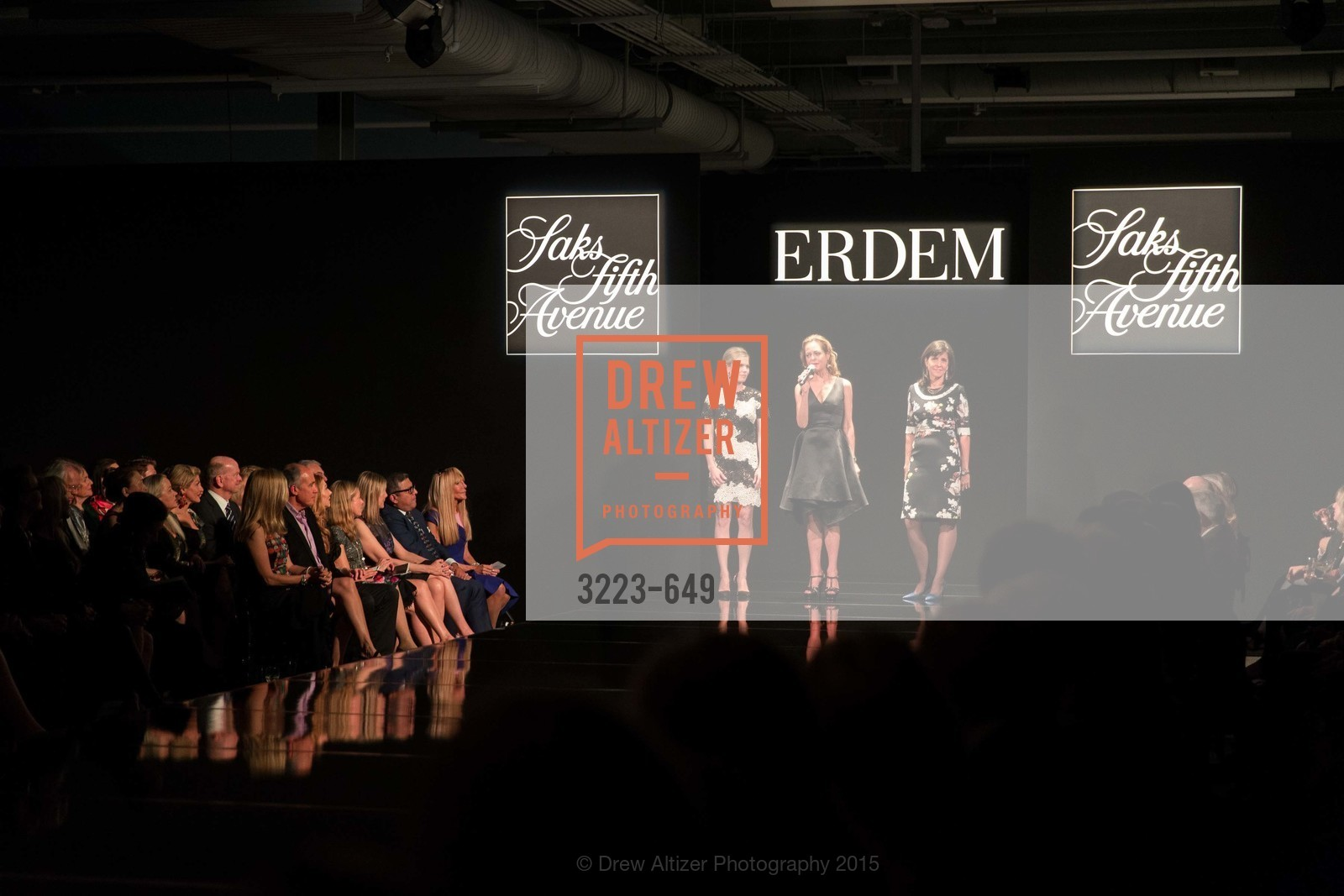 Claire Fluhr, Charlot Malin, Anne Marie Massocca, Fashion Forward: An Evening with Erdem presented by SF Opera Guild and Saks Fifth Avenue, Pier 27. Pier 27, The Embarcadero, March 25th, 2015,Drew Altizer, Drew Altizer Photography, full-service agency, private events, San Francisco photographer, photographer california