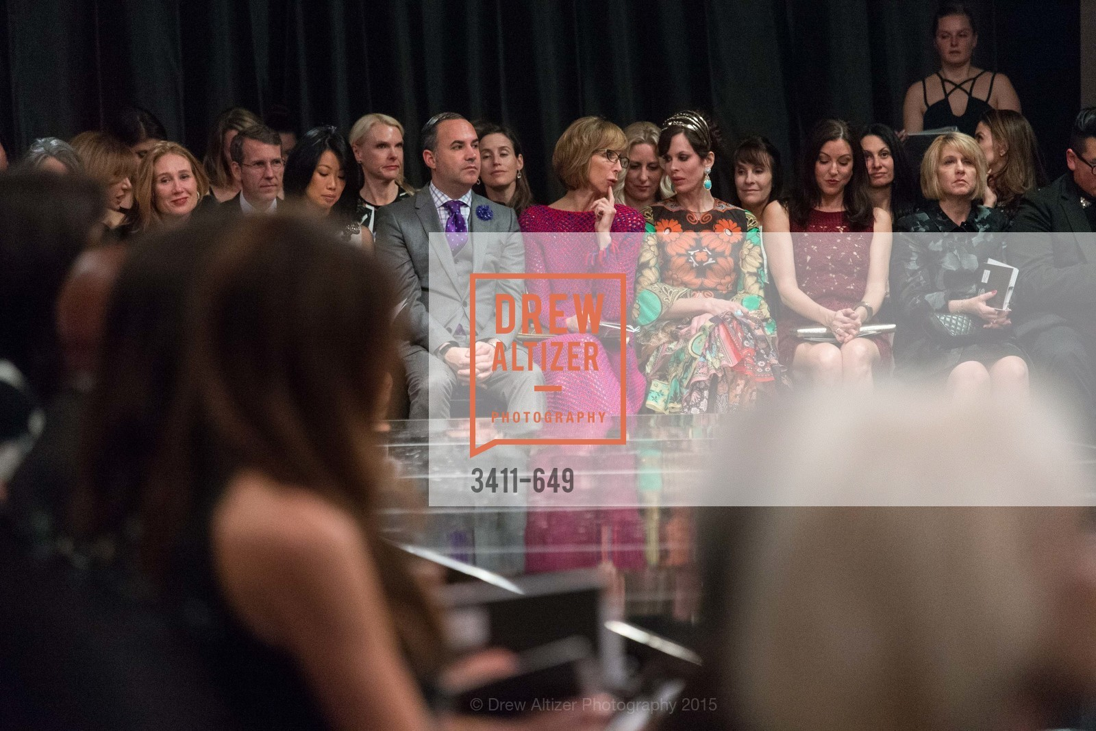 Huifen Chan, Robert Arnold-Kraft, Nancy Kukacka, Stephanie Marver, Marbeth LaMotte, Fashion Forward: An Evening with Erdem presented by SF Opera Guild and Saks Fifth Avenue, Pier 27. Pier 27, The Embarcadero, March 25th, 2015,Drew Altizer, Drew Altizer Photography, full-service agency, private events, San Francisco photographer, photographer california