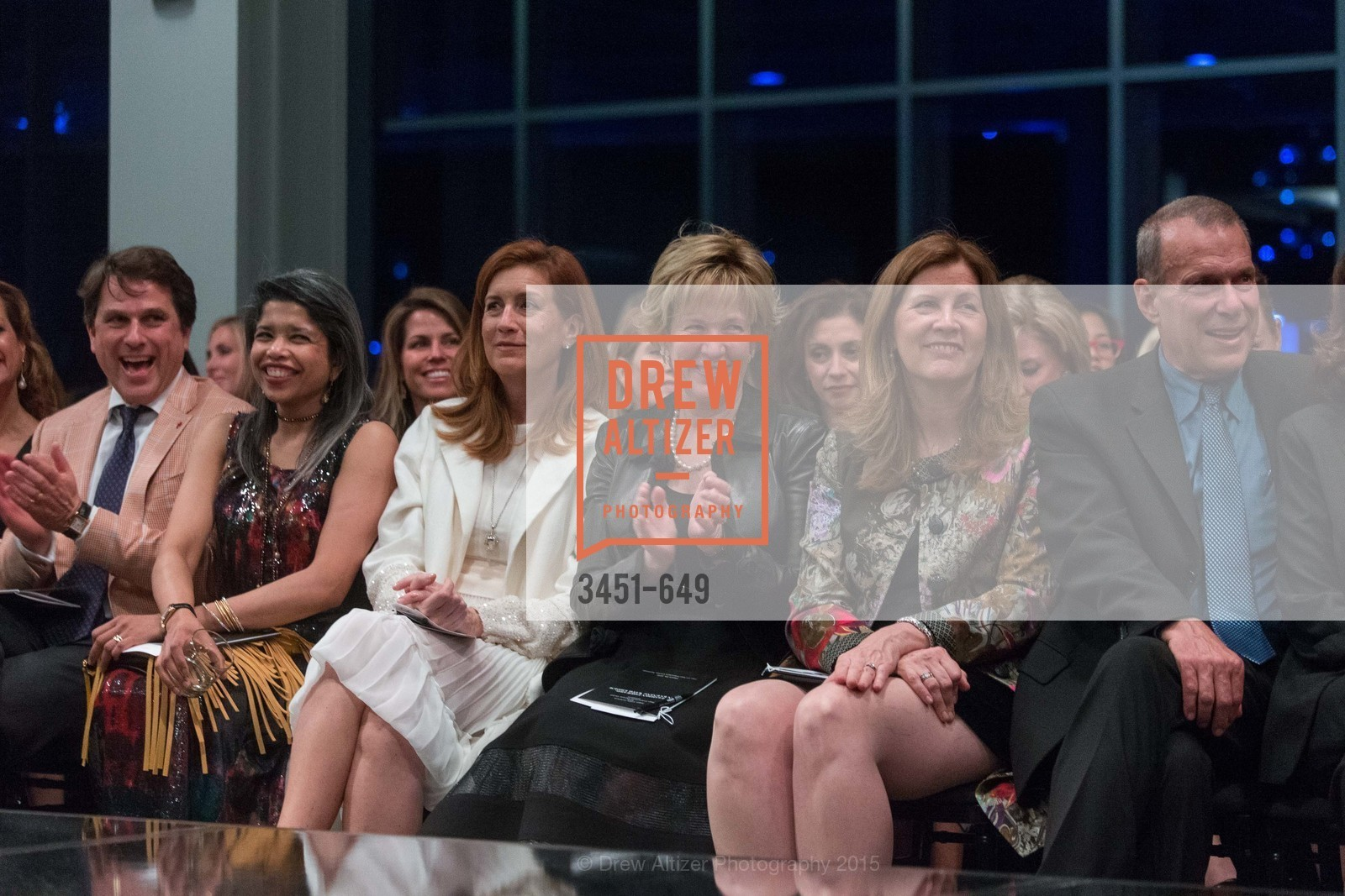 Gregory Malin, Deepa Pakianathan, Jean Larette, Jacqueline Erdman, David Gockley, Fashion Forward: An Evening with Erdem presented by SF Opera Guild and Saks Fifth Avenue, Pier 27. Pier 27, The Embarcadero, March 25th, 2015,Drew Altizer, Drew Altizer Photography, full-service agency, private events, San Francisco photographer, photographer california