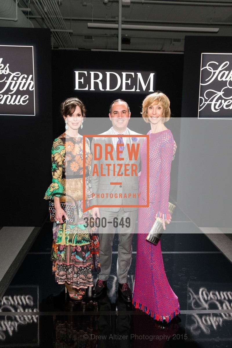 Stephanie Marver, Robert Arnold-Kraft, Nancy Kukacka, Fashion Forward: An Evening with Erdem presented by SF Opera Guild and Saks Fifth Avenue, Pier 27. Pier 27, The Embarcadero, March 25th, 2015,Drew Altizer, Drew Altizer Photography, full-service event agency, private events, San Francisco photographer, photographer California