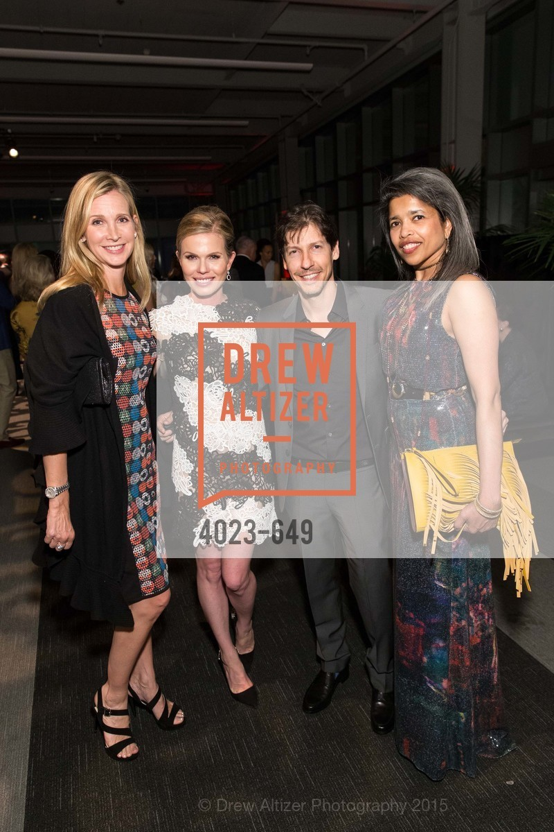 Courtney Labe, Claire Fluhr, Jeff Fluhr, Deepa Pakianathan, Fashion Forward: An Evening with Erdem presented by SF Opera Guild and Saks Fifth Avenue, Pier 27. Pier 27, The Embarcadero, March 25th, 2015,Drew Altizer, Drew Altizer Photography, full-service agency, private events, San Francisco photographer, photographer california
