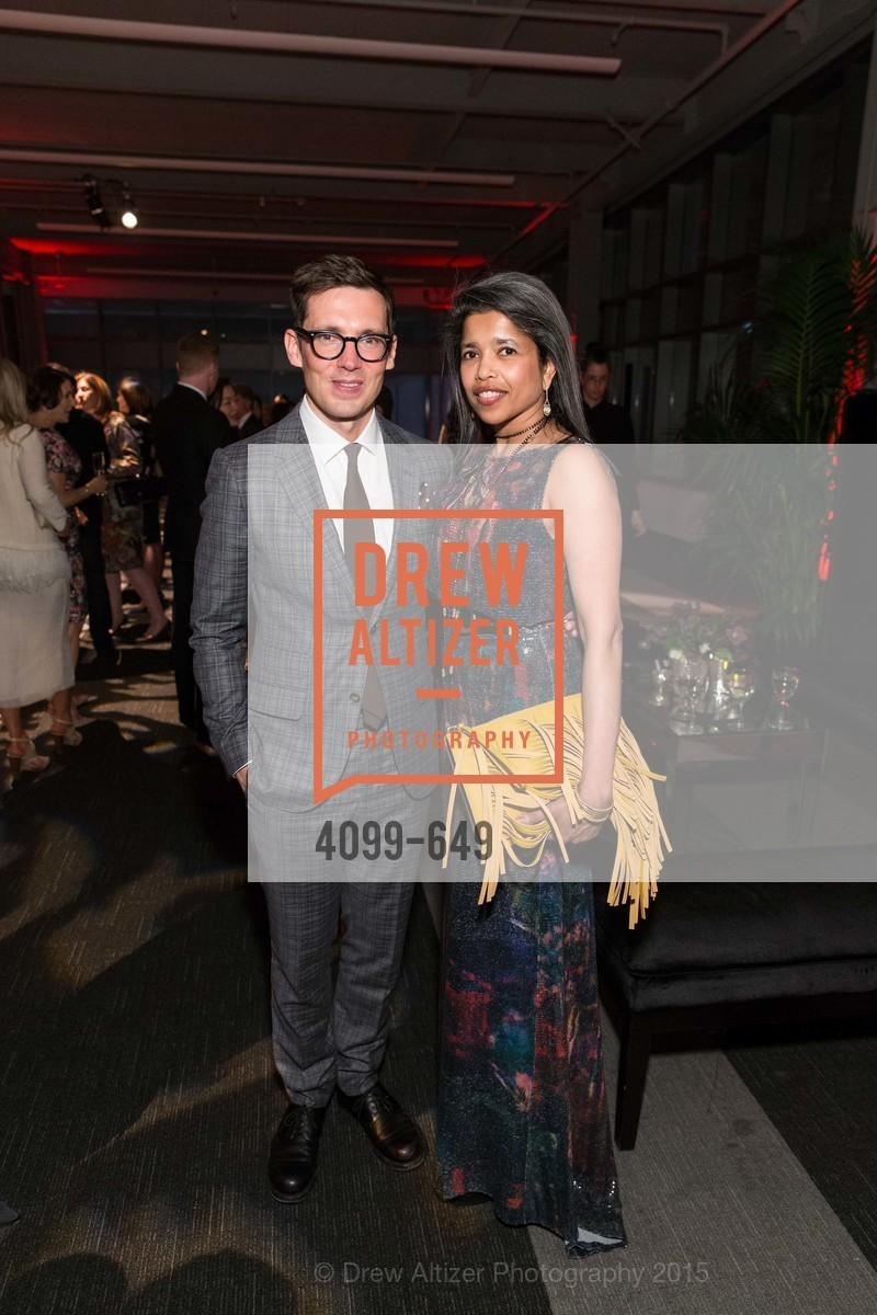 Erdem Moralioglu, Deepa Pakianathan, Fashion Forward: An Evening with Erdem presented by SF Opera Guild and Saks Fifth Avenue, Pier 27. Pier 27, The Embarcadero, March 25th, 2015,Drew Altizer, Drew Altizer Photography, full-service agency, private events, San Francisco photographer, photographer california
