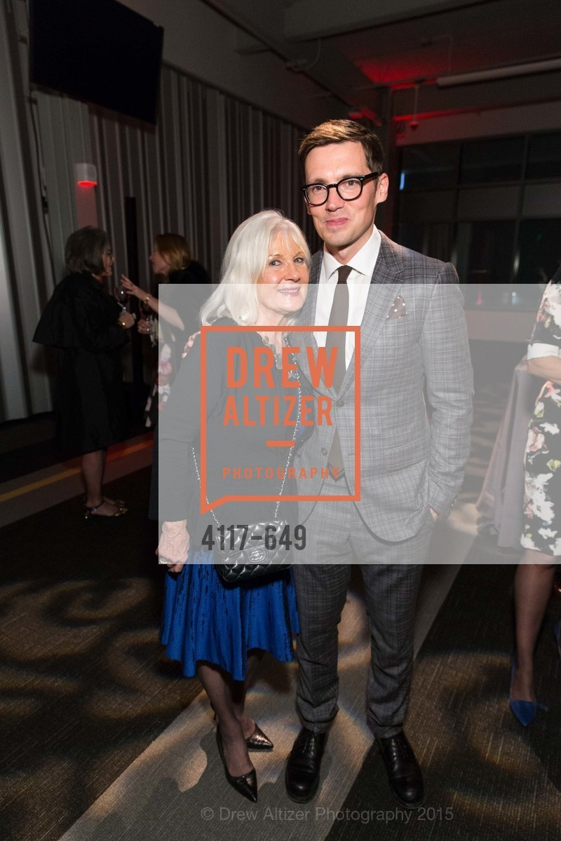 Arlene Inch, Erdem Moralioglu, Fashion Forward: An Evening with Erdem presented by SF Opera Guild and Saks Fifth Avenue, Pier 27. Pier 27, The Embarcadero, March 25th, 2015,Drew Altizer, Drew Altizer Photography, full-service agency, private events, San Francisco photographer, photographer california