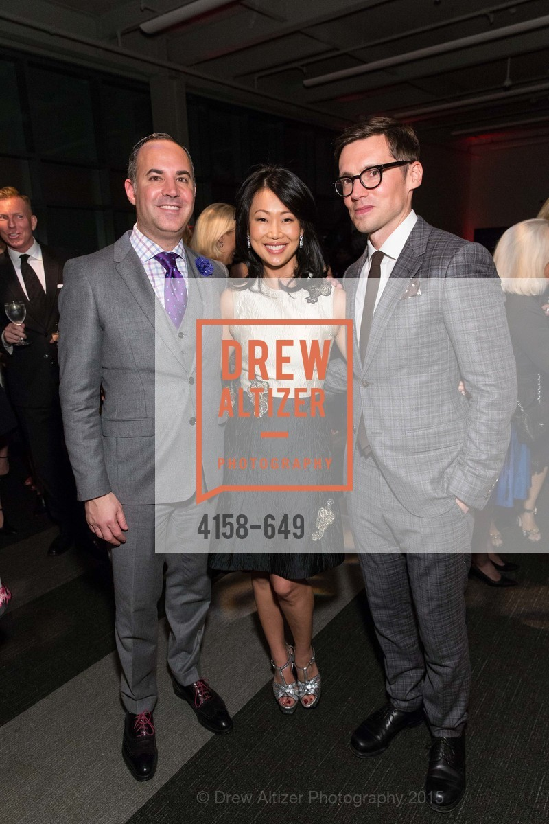 Robert Arnold-Kraft, Huifen Chan, Erdem Moralioglu, Fashion Forward: An Evening with Erdem presented by SF Opera Guild and Saks Fifth Avenue, Pier 27. Pier 27, The Embarcadero, March 25th, 2015,Drew Altizer, Drew Altizer Photography, full-service agency, private events, San Francisco photographer, photographer california