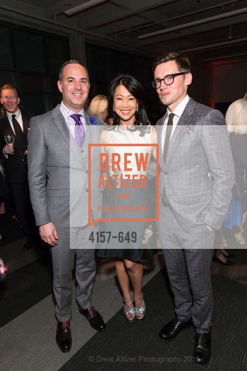 Robert Arnold-Kraft, Huifen Chan, Erdem Moralioglu, Fashion Forward: An Evening with Erdem presented by SF Opera Guild and Saks Fifth Avenue, Pier 27. Pier 27, The Embarcadero, March 25th, 2015