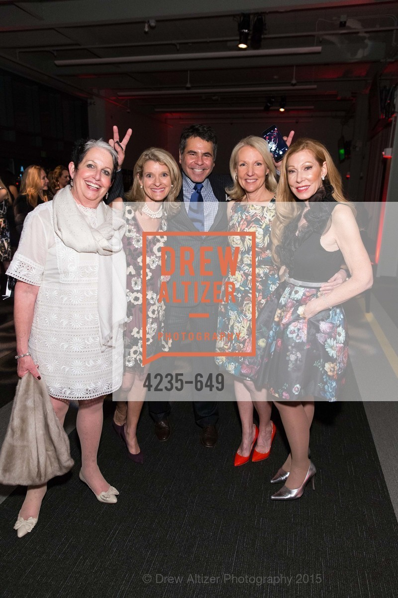 Karen Kubin, Amy Sanford, Gary Garabedian, Ann Girard, Teresa Medearis, Fashion Forward: An Evening with Erdem presented by SF Opera Guild and Saks Fifth Avenue, Pier 27. Pier 27, The Embarcadero, March 25th, 2015,Drew Altizer, Drew Altizer Photography, full-service agency, private events, San Francisco photographer, photographer california