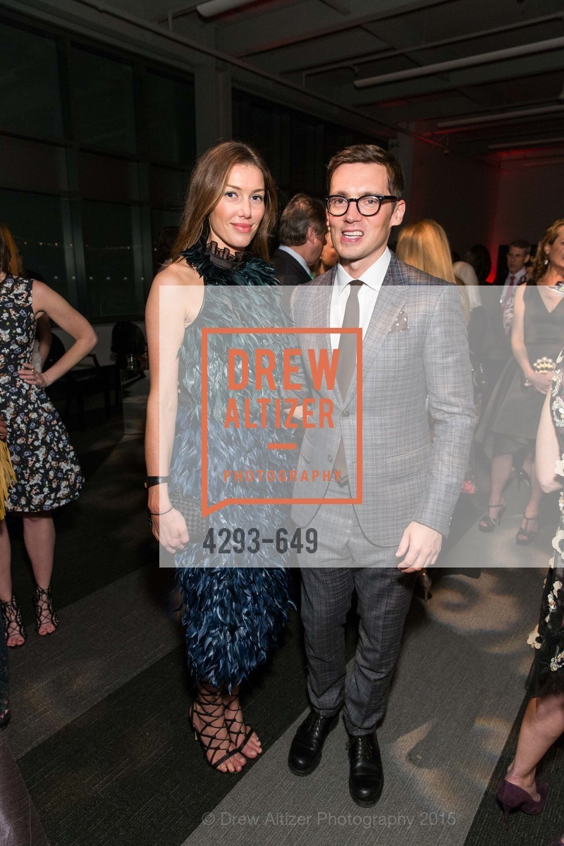 Sarah Somberg, Erdem Moralioglu, Fashion Forward: An Evening with Erdem presented by SF Opera Guild and Saks Fifth Avenue, Pier 27. Pier 27, The Embarcadero, March 25th, 2015,Drew Altizer, Drew Altizer Photography, full-service agency, private events, San Francisco photographer, photographer california