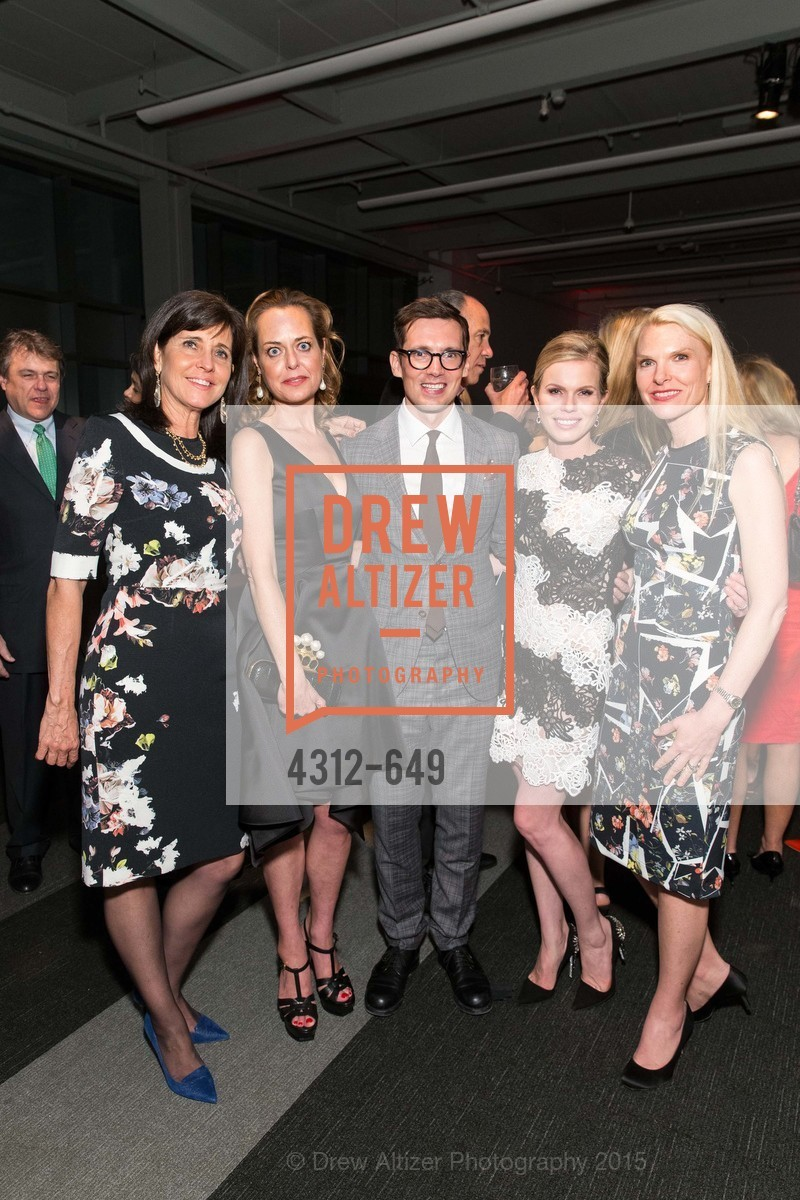 Anne Marie Massocca, Charlot Malin, Erdem Moralioglu, Claire Fluhr, Linle Froeb, Fashion Forward: An Evening with Erdem presented by SF Opera Guild and Saks Fifth Avenue, Pier 27. Pier 27, The Embarcadero, March 25th, 2015,Drew Altizer, Drew Altizer Photography, full-service agency, private events, San Francisco photographer, photographer california