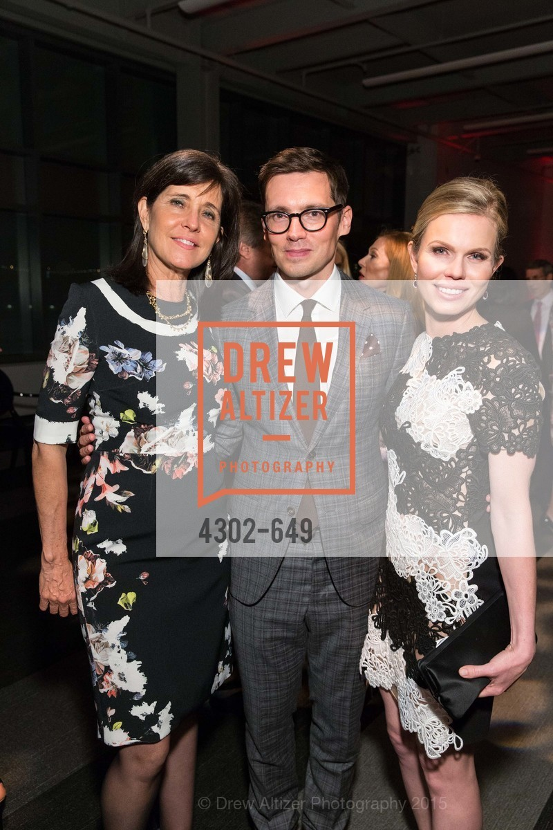 Anne Marie Massocca, Erdem Moralioglu, Claire Fluhr, Fashion Forward: An Evening with Erdem presented by SF Opera Guild and Saks Fifth Avenue, Pier 27. Pier 27, The Embarcadero, March 25th, 2015,Drew Altizer, Drew Altizer Photography, full-service agency, private events, San Francisco photographer, photographer california