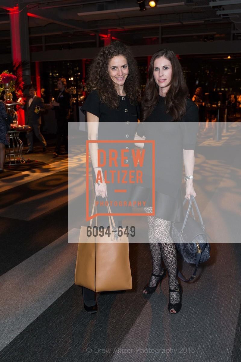 Monica Savini, Yasmine Zdencaj, Fashion Forward: An Evening with Erdem presented by SF Opera Guild and Saks Fifth Avenue, Pier 27. Pier 27, The Embarcadero, March 25th, 2015