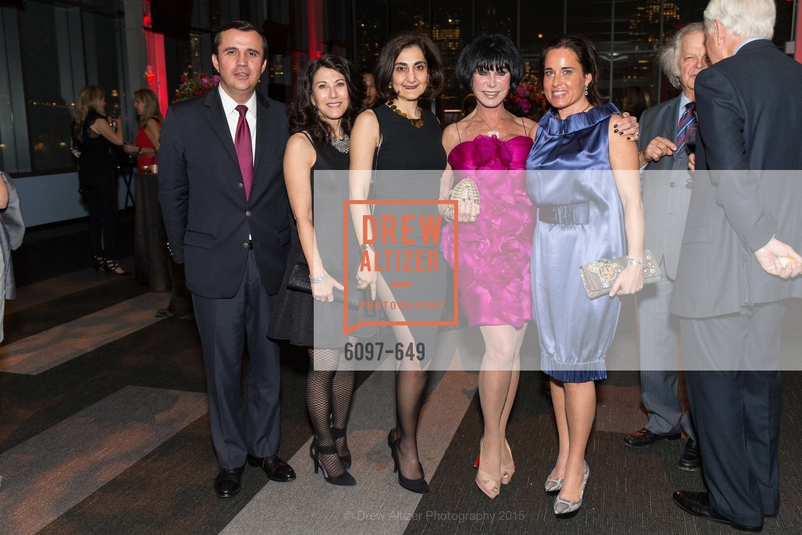 Jorge Jaramillo, Adrienne Mally, Fati Farmanfarmaian, Marilyn Cabak, Natalia Urrutia, Fashion Forward: An Evening with Erdem presented by SF Opera Guild and Saks Fifth Avenue, Pier 27. Pier 27, The Embarcadero, March 25th, 2015,Drew Altizer, Drew Altizer Photography, full-service agency, private events, San Francisco photographer, photographer california