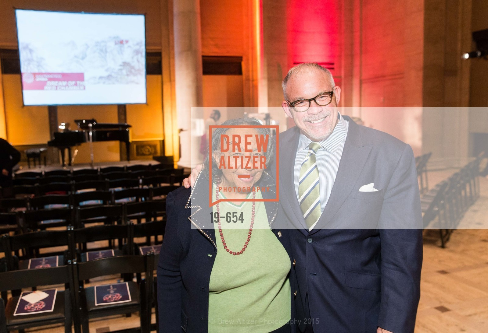 Sylvia Lindsey, Jon Finck, San Francisco Opera Celebrates