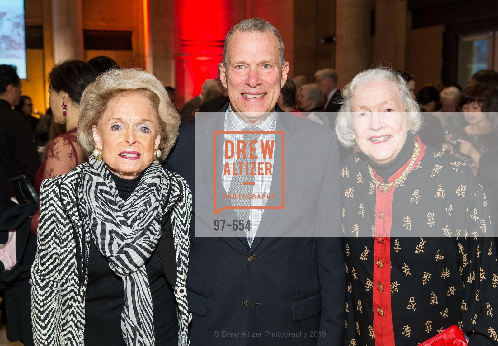 Harriet Quarre, David Gockley, Marianne Peterson, San Francisco Opera Celebrates