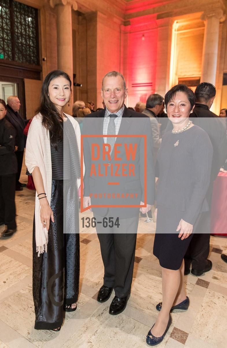 Yuan Yuan Tan, David Gockley, Doreen Woo Ho, San Francisco Opera Celebrates