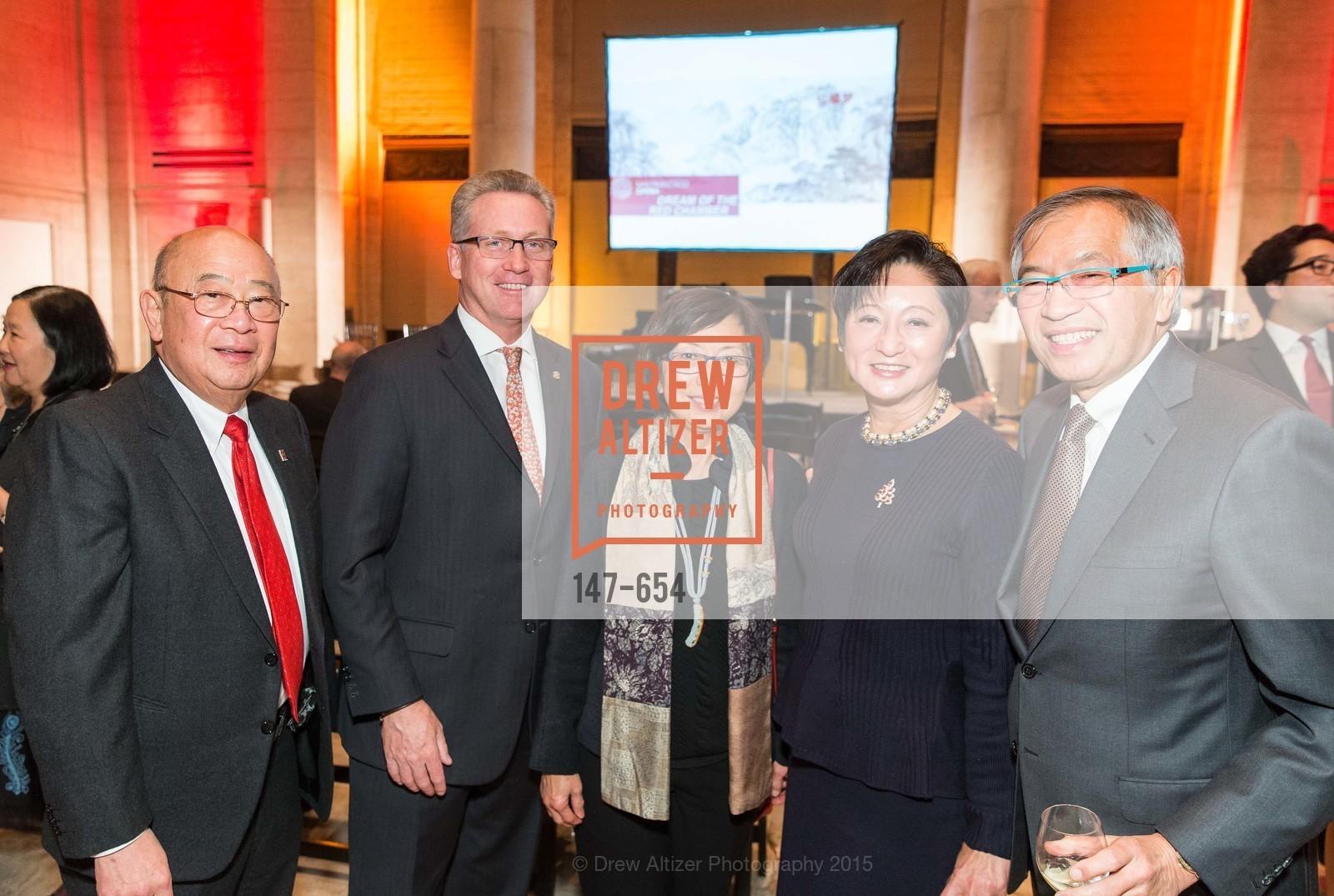 Dennis Wu, Tom Carroll, Mabel Teng, Doreen Woo Ho, James Ho, San Francisco Opera Celebrates