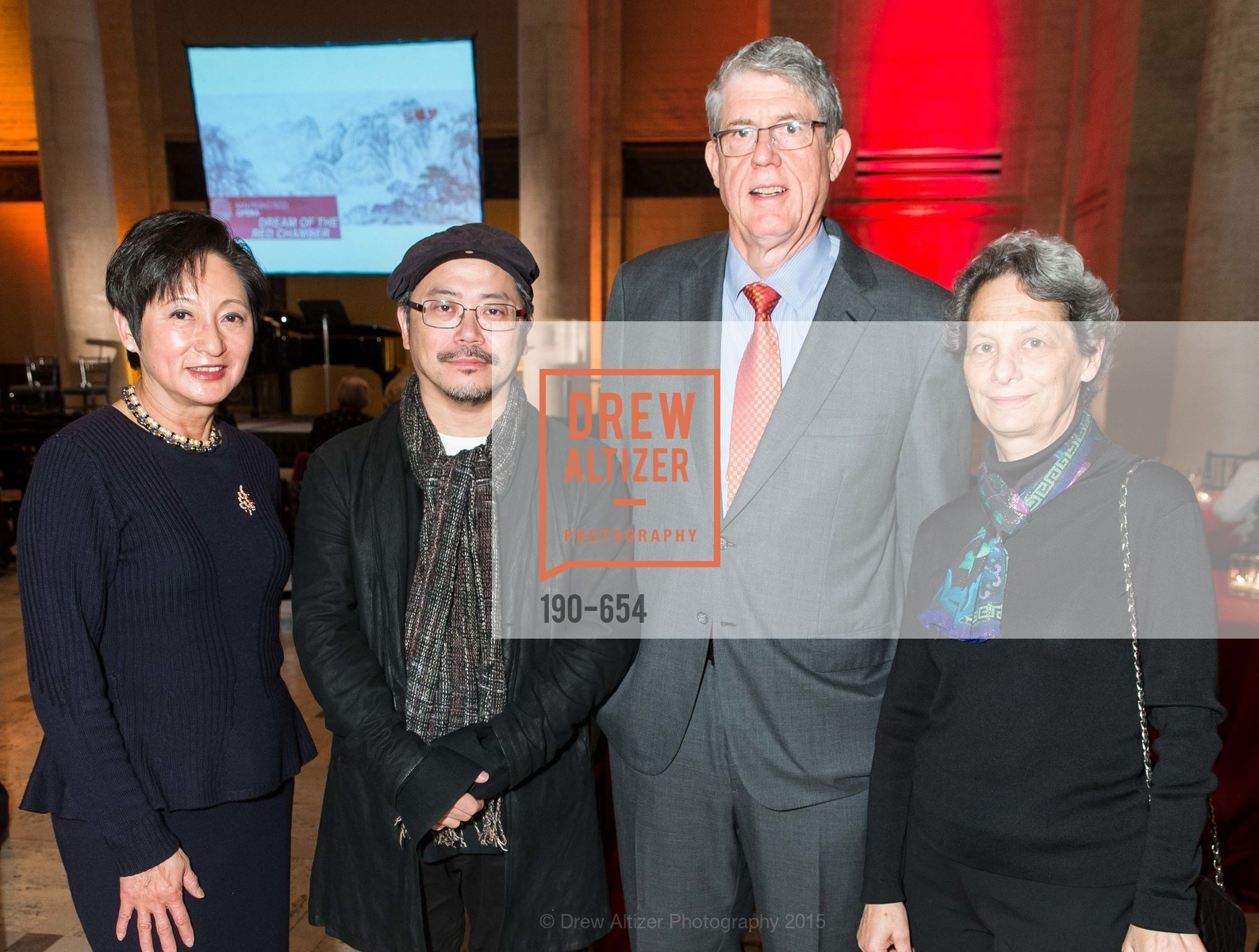 Doreen Woo Ho, Tim Yip, Tim Kahn, Lisa Erdberg, San Francisco Opera Celebrates
