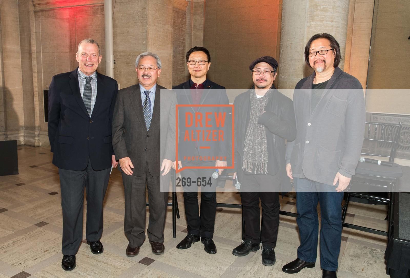 Ed Lee, David Gockley, Bright Sheng, Tim Yip, Stan Lai, San Francisco Opera Celebrates