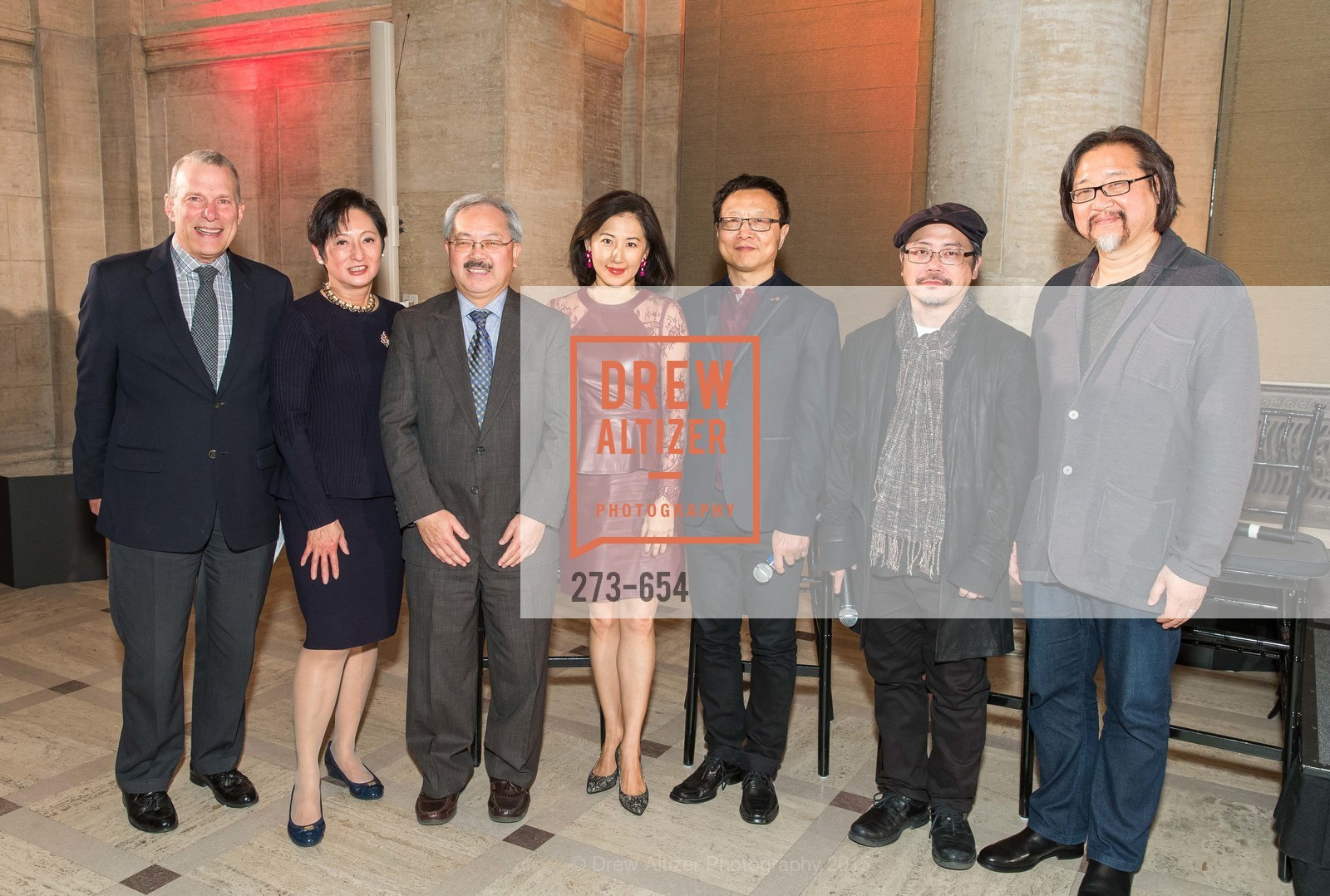 David Gockley, Doreen Woo Ho, Ed Lee, Gorretti Lo Lui, Bright Sheng, Tim Yip, Stan Lai, San Francisco Opera Celebrates